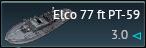 Elco 77 ft PT-59