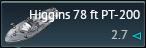 Higgins 78 ft PT-200