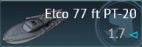 Elco 77 ft PT-20