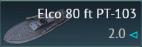 Elco 80 ft PT-103