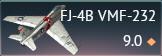 FJ-4B VMF-232