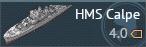 HMS Calpe