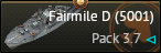 >Fairmile D (5001)