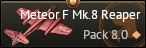Meteor F. Mk.8 Reaper