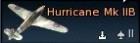 Hurricane Mk.IIB/Trop