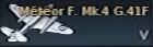 Meteor F. Mk.4 G.41F