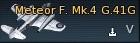 Meteor F. Mk.4 G.41G