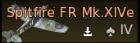 Prendergast's Spitfire FR Mk.XIVe