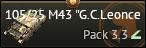 105/25 M43 G.C.Leoncello