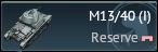 M13/40(I)