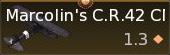 Marcolin's CR.42CN