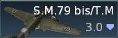 S.M.79 bis/T.M