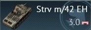 Strv m/42 EH