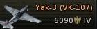 Yak-3(VK-107)