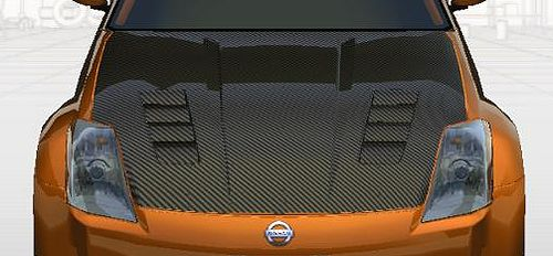 Z33カーボンボンネット1-1.jpg