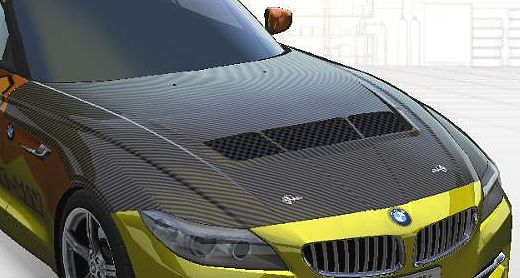 Z4カーボンボンネット1-1.jpg