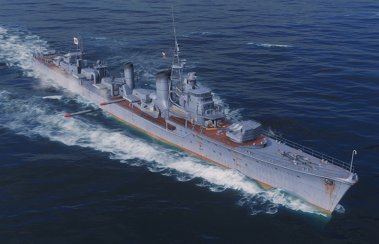 Shimakaze World Of Warships Wiki