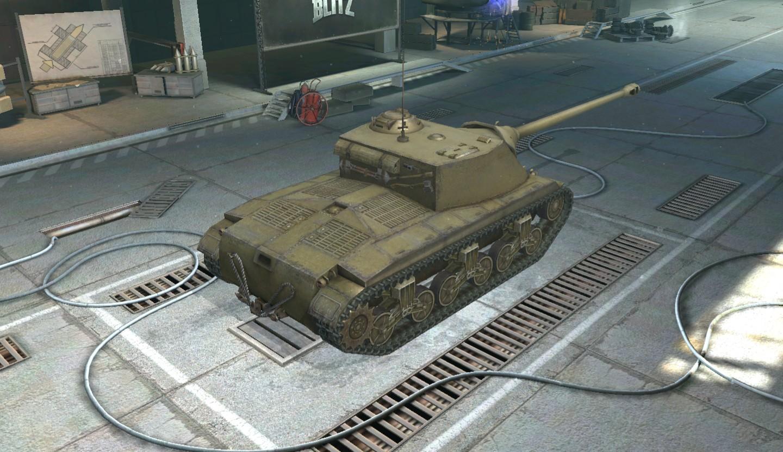WoTB T25 AT 105mm AT Gun T5E1.JPG