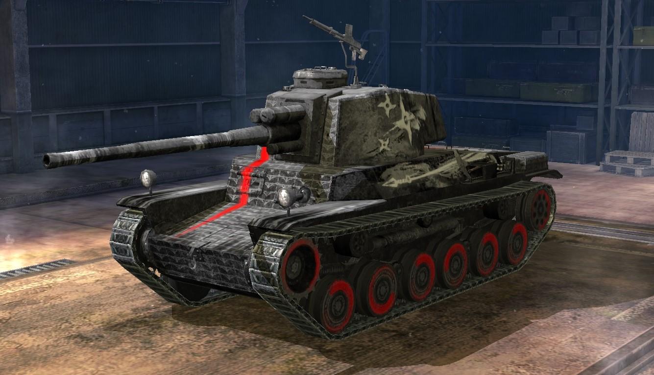 Type 3 Chi-Nu Kai - World of Tanks Blitz Wiki*