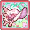 不散桜の鍔広帽