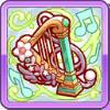 翠奏のハープブローチ