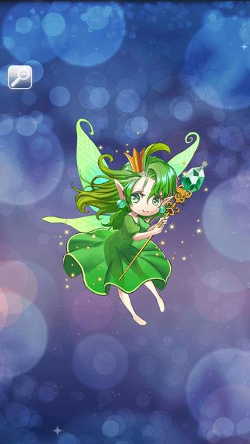 フェアリープリンセス(緑)画像