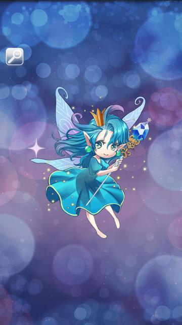 フェアリープリンセス(青)画像