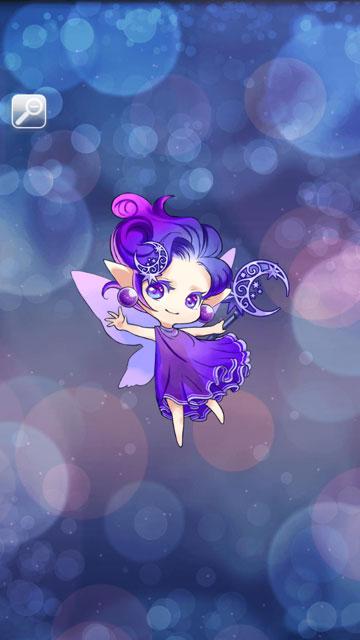 ムーンフェアリー(紫)画像
