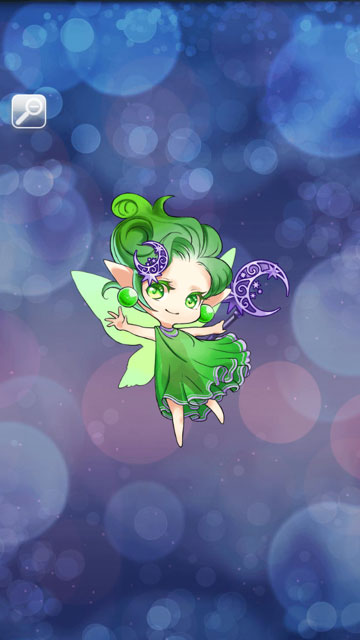 ムーンフェアリー(緑)画像