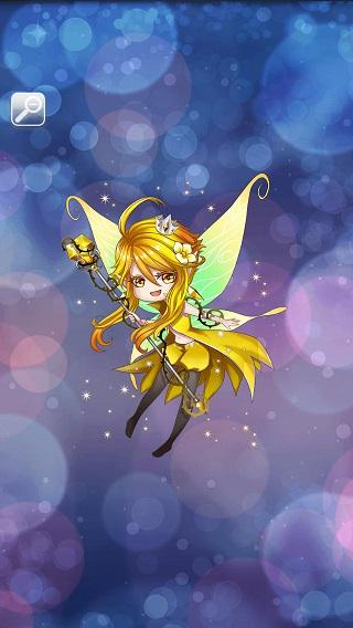 可愛いいたずら妖精画像