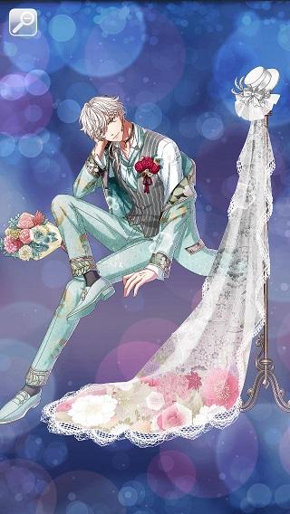 婚礼衣裳に結びし未来 ヒノト月