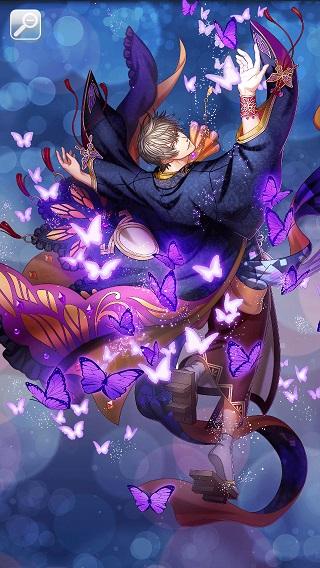 恋し蝶舞う月華の夜 ロイエ月