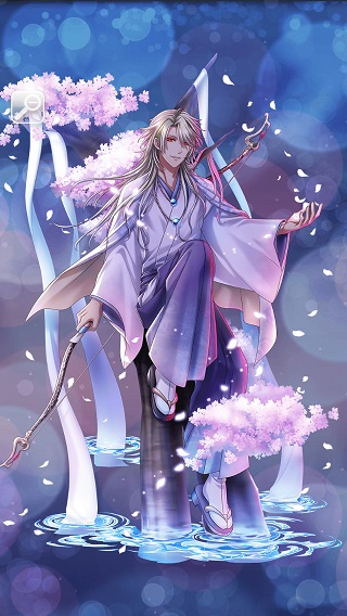 月下の妖かし桜 アマノ月