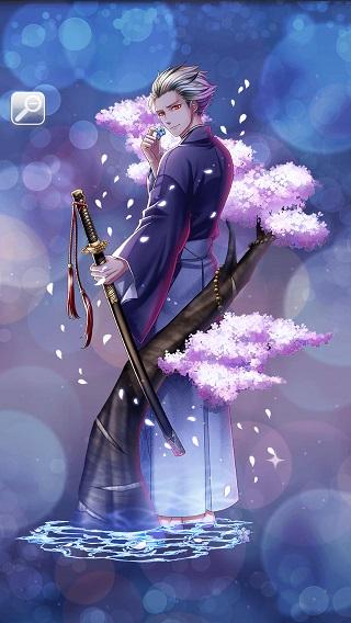 月下の妖かし桜 雷月