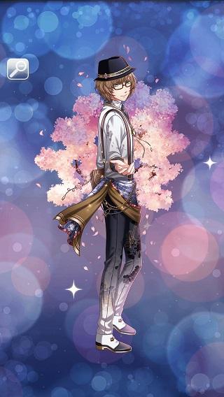 桜舞い、恋灯る グレアム月