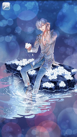 海に咲く星屑の花 シュテル月