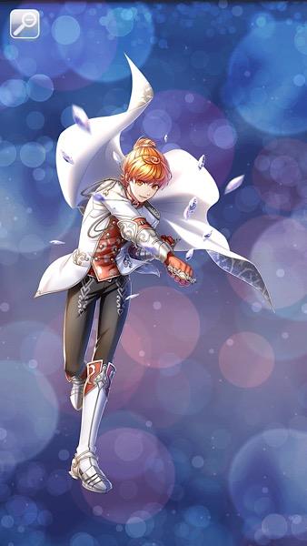 白銀の竜騎士 カイネ太陽
