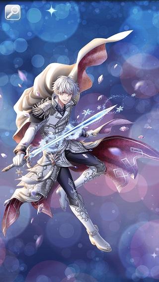 白銀の竜騎士 グレイシア太陽