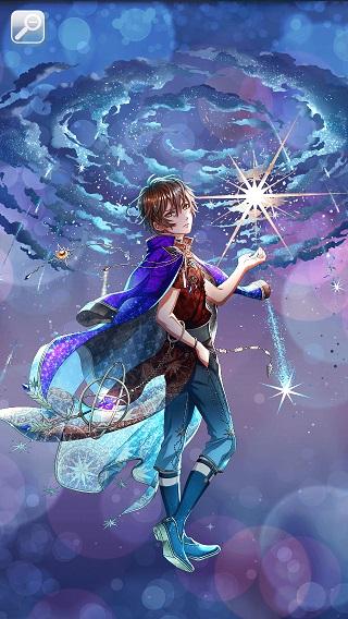 追憶の空に廻る星 リカ月