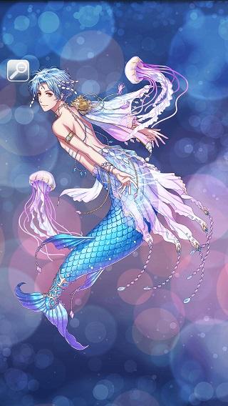 青く煌めく冒険者 サラサ月